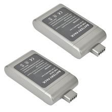 ETC-2 Pack 21.6V 1500mAh Cordless Vacuum Replacement Battery for D-yson DC16, 12097, 912433-01, 912433-03, 912433-04, BP01 Gray