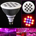 Rayway New Arrival 85-265v E27 Full spectrum plants red+blue Led Growth Light Hydroponic Bloom flowering LED grow lamps