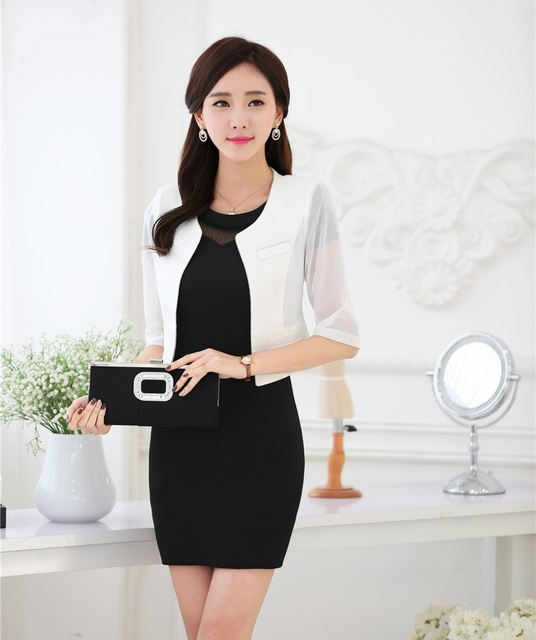 Spring Summer Formal Ladies Dress Suits For Women Business Suits