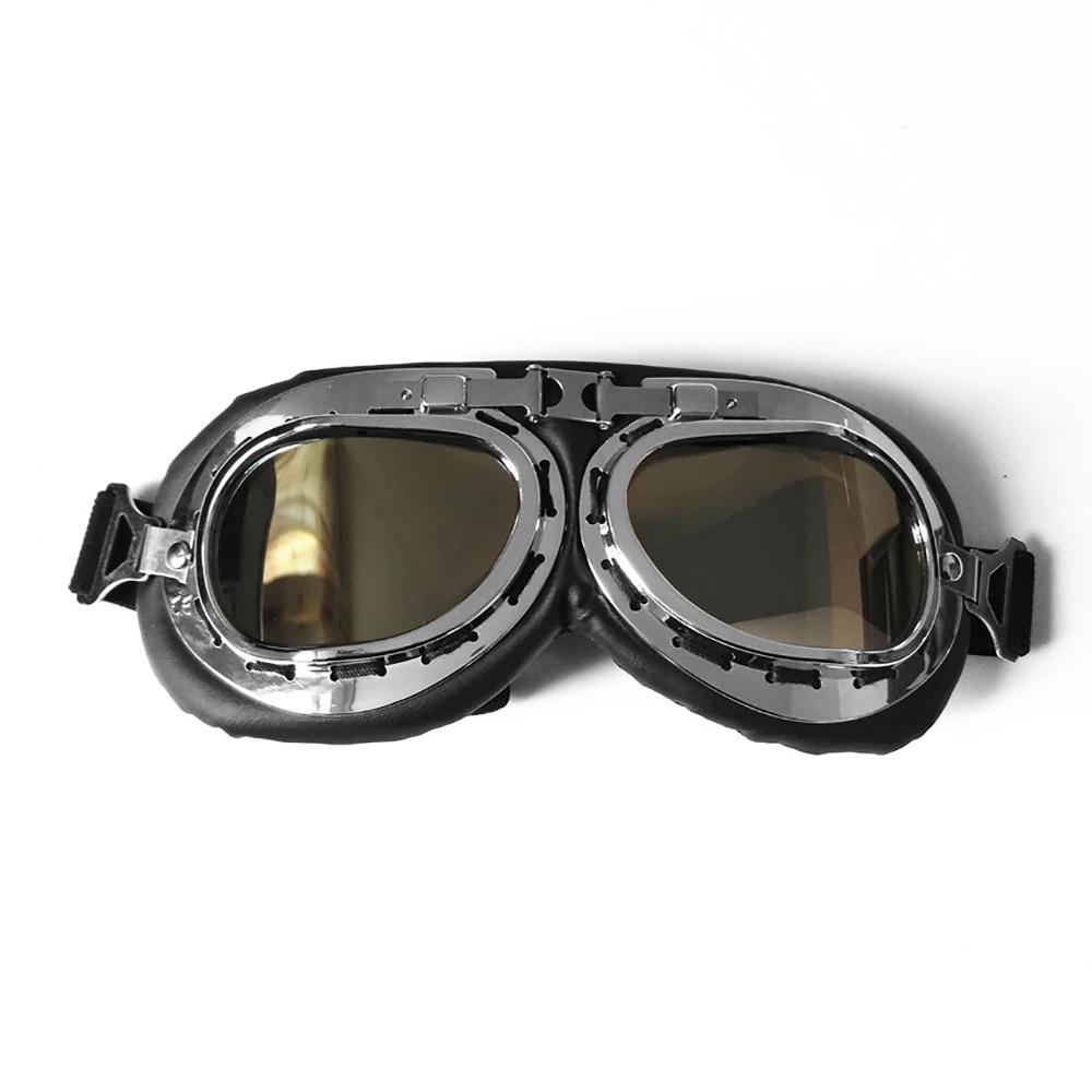 Мотоцикл UV400 солнцезащитные очки модные защиты солнцезащитные поляризационные очки для использования вне помещения - Цвет: silver plated