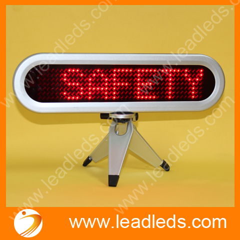 mini size led matrix display with red color for meeting room ...