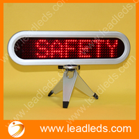 mini size led matrix display with red color for meeting room