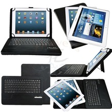 "Universal Detachable Wireless Bluetooth Keyboard PU Case Cover Stand For Teclast P98 3G 9.7"" / X16HD 10.6"" Tablet"
