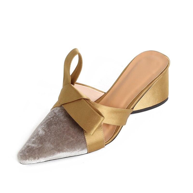 gris Noires Qutaa À Talons 34 Pointu forme Des Dames Pour Plate Chaussures Hauts 2019 Pompes Noir Slip Troupeau Sur 39 Carré Taille Bout Femmes 6wFTq6gr