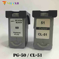 PG 50 CL 51 ink cartridge for Canon PG50 CL51 PG 50 Pixma MP150 MP160 MP170 MP180 MX300 MP450 MP460 IP2200