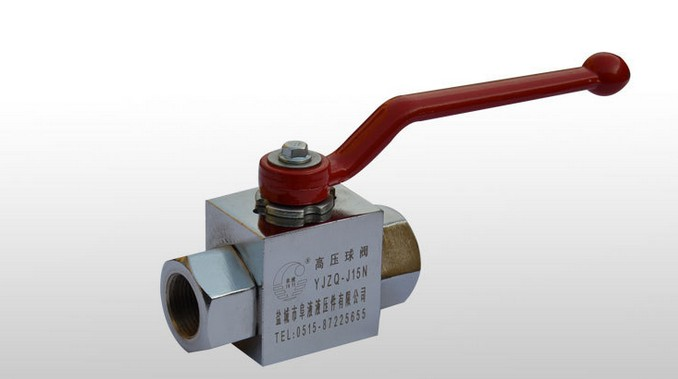 Hydraulic valve YJZQ-J32N High pressure ball valve female thread high quality hydraulic valve zdr6dp1 4x 75ym