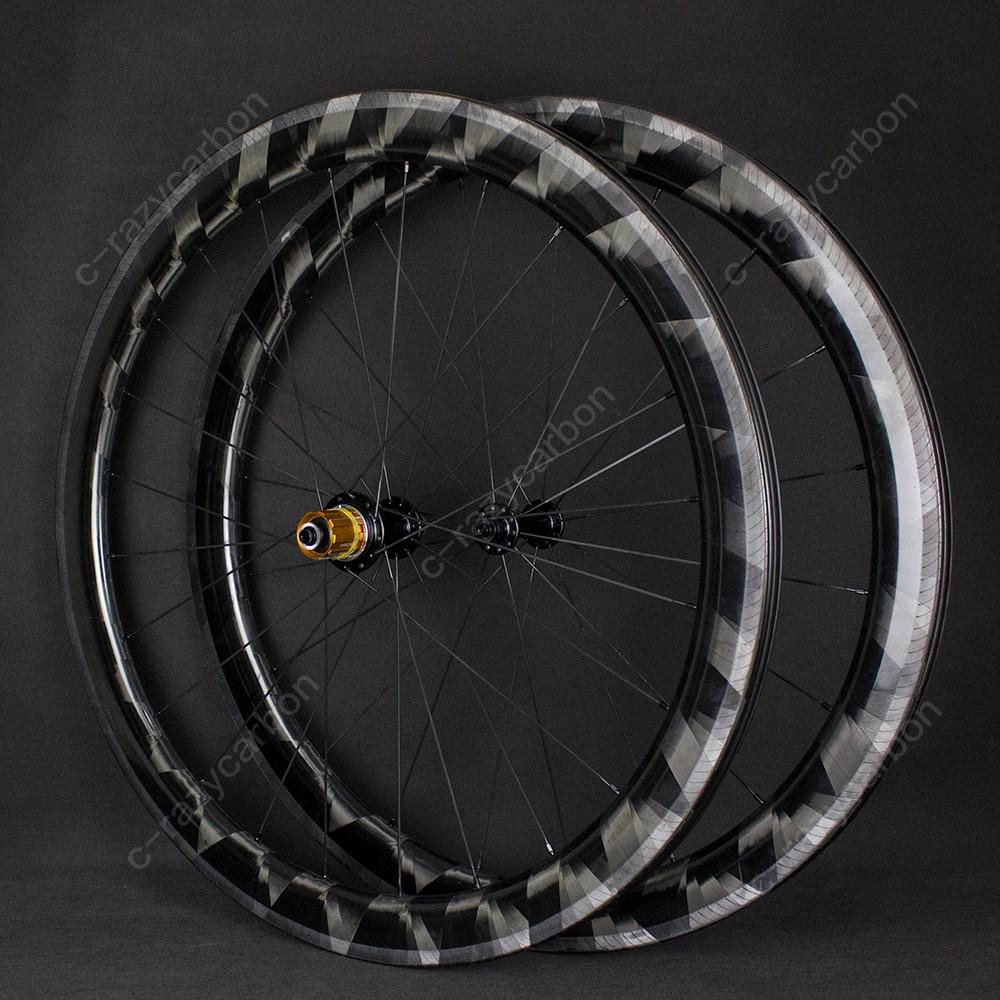 2019 Lightweight X Wheels 30 50mm Clincher Tubular Wheels Super Light Rim Road Bicycle Rims On