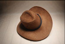 [Dexing]On The Box No deformation Wide Brim Faux Leather men women western Hollywood Party Costume travel outdoor cowboy hat