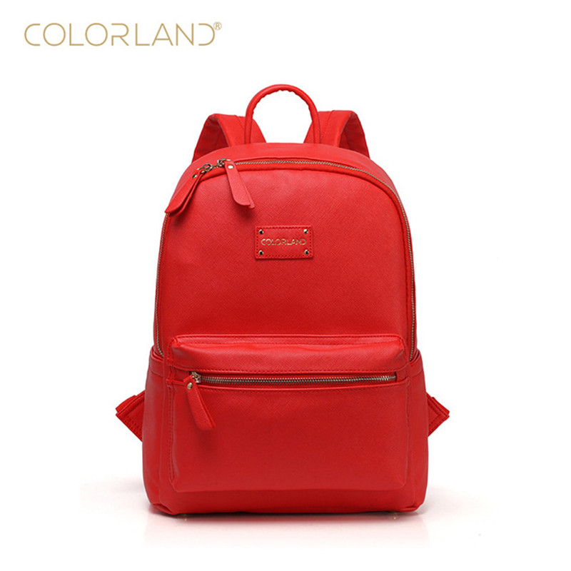 Colorland Large Nappy Bag Baby Bag Organizer PU Diaper Bags Mom Backpack Tote Mother Maternity Bags Diaper Backpack sunveno pu leather baby bag organizer tote diaper bags mom backpack mother maternity bags diaper backpack large nappy bag