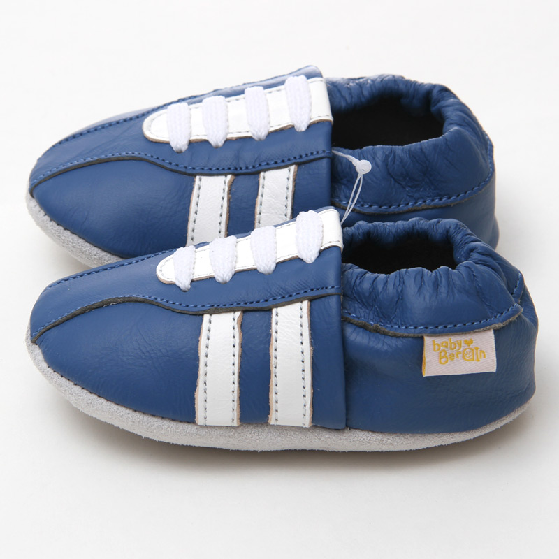 3a951abd0ec42 Genuine Leather Baby Shoes Moccasins Casual Baby Shoes Blue Boy Slippers  Toddler non slip First Walkers Kids Shoes Footwear-in First Walkers from  Mother ...
