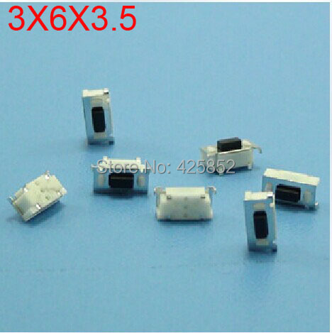 3x6x35 Microswitch Buttontact Switch Button For Car Remote Key