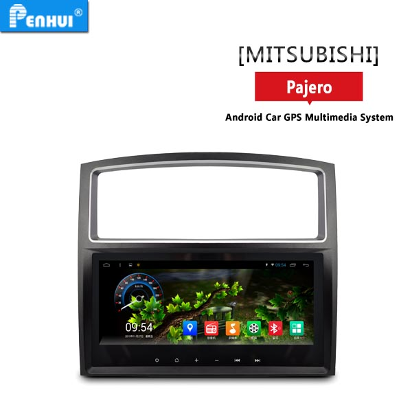 Car multimedia player car dvd player For mitsubishi pajero the year 2009 with gps navigation RAM 2G pilot monitor car screen