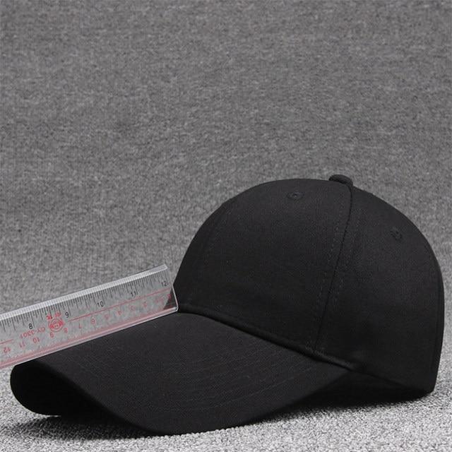 af80609fc39  AETRENDS  2018 New Black White Cotton Baseball Cap Men Women Breathable  Outdoor Travel Sport Hats Snapbacks Caps Z-6297