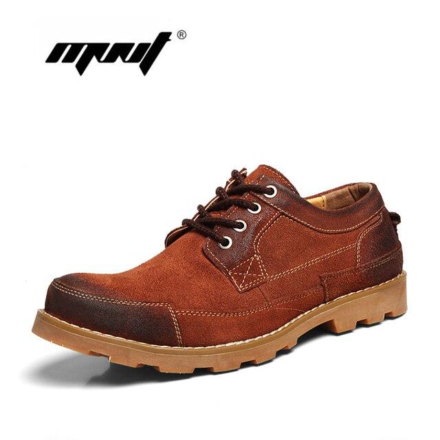 Полный натуральная кожа мужчины сапоги Ручной Работы осенние сапоги Моды для мужчин ботильоны водонепроницаемый открытый мужчин, работающих обувь оксфорд обувь