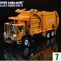Camiones De Basura camiones de saneamiento KDW 1:24 modelo de coche de aleación de fundición de origen niños juguete 625040 620040 Remolque Kaidiwei regalo del muchacho