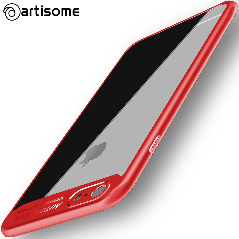 Artisome Helt skyddande fodral för iPhone 6 6S 7 8 Plus X-fodral - Reservdelar och tillbehör för mobiltelefoner - Foto 2