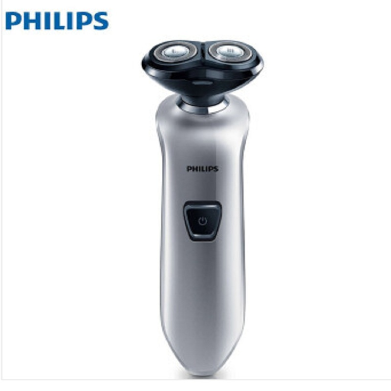 PHILIPS S520/12 Rechargeable Electric Shaver Twin Floating Blade Heads Shaving Machine Rotary Shaver Face Care Men Beard Trimmer men s rechargeable rotary electric shaver