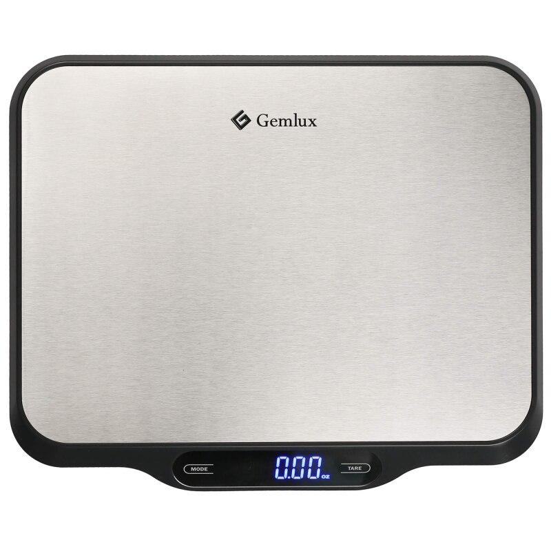 купить Scale kitchen GEMLUX GL-KS15 (LCD display, max load 15 kg, автоотключение to save battery, reset weight Tare, touch control) по цене 3174 рублей