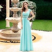 Ever Pretty Evening Dresses HE08697WH Women S Beautiful Elegant Sexy White V Neck Long Prom Dresses