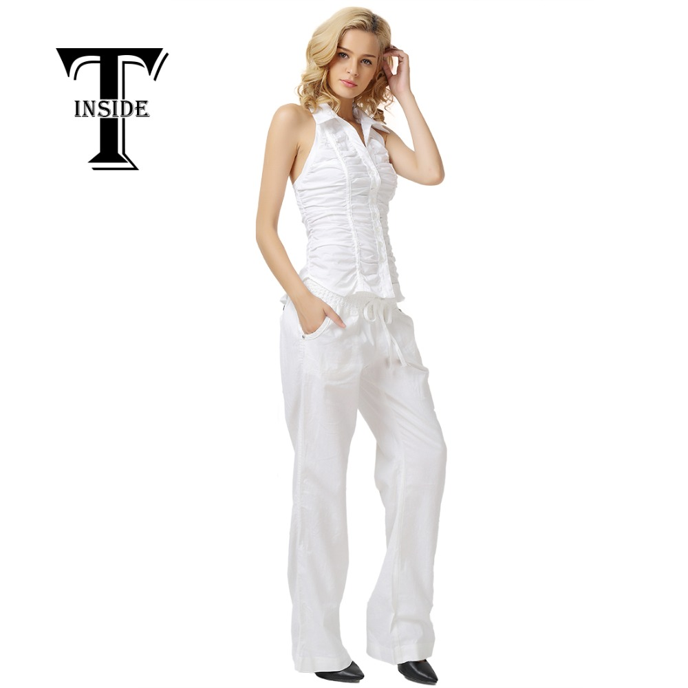 Popular Women White Linen Pants-Buy Cheap Women White Linen Pants ...