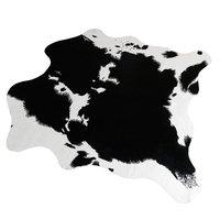 140x160 cm antislip Koe Print Rug/Tapijt 5.2x4.6 Voeten Kunstmatige Dier Gedrukt Tapijt voor Thuis