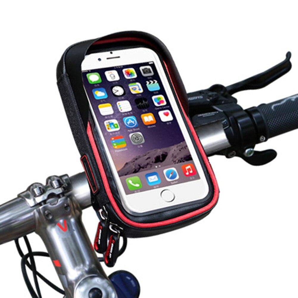 Multifonction 6 pouce Étanche Vélo Sac Écran Touché 360 Degrés Téléphone Porte Vélo Vélo Avant Tube pour Moblie Téléphone Outil