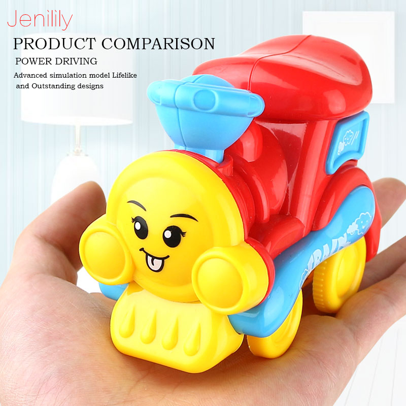 New Colorful Mini Train Toy Fun Simulation Vehicles Boys Toys Friction Power Car Children Pretend Play Toys Gift For Kids