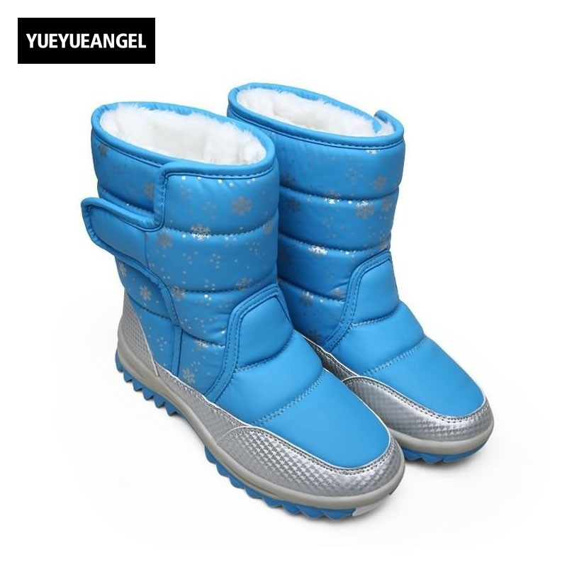 Winter Warm Casual Shoes Women Snow Boots Thick Bottom Female Footwear Pu Leather Fur Cotton Lining Botas Femininas De Inverno vesonal brand faux fur women shoes flats 2017 winter warm velvet female fashion ladies woman sneakers casual footwear tsj 189