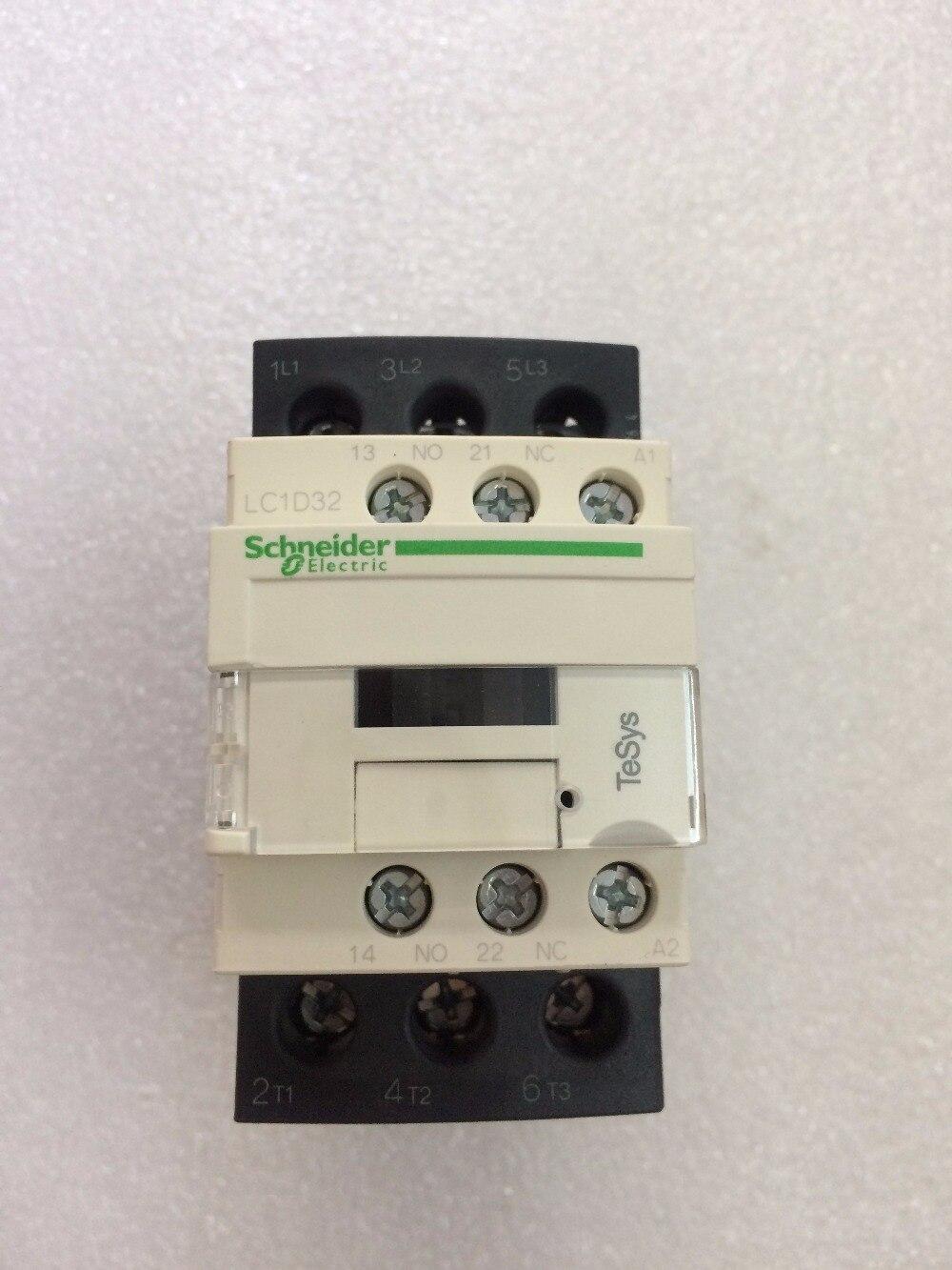 Tesys D Contactor  LC1D32 LC1D32B7 LC1D32B7C  coil AC24V   32A Tesys D Contactor  LC1D32 LC1D32B7 LC1D32B7C  coil AC24V   32A