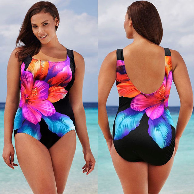 a6563e2ffe0 UK STOCK bikini 2017 Sexy Women One Piece Swimsuit Floral Print Push Up  Padded Bikini Swimwear Beachwear swimsuit women