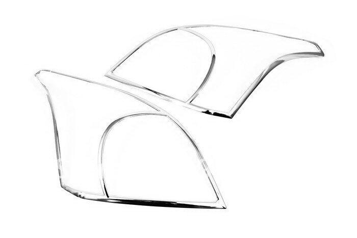 High Quality Chrome Head Light Cover for Toyota Prado Land