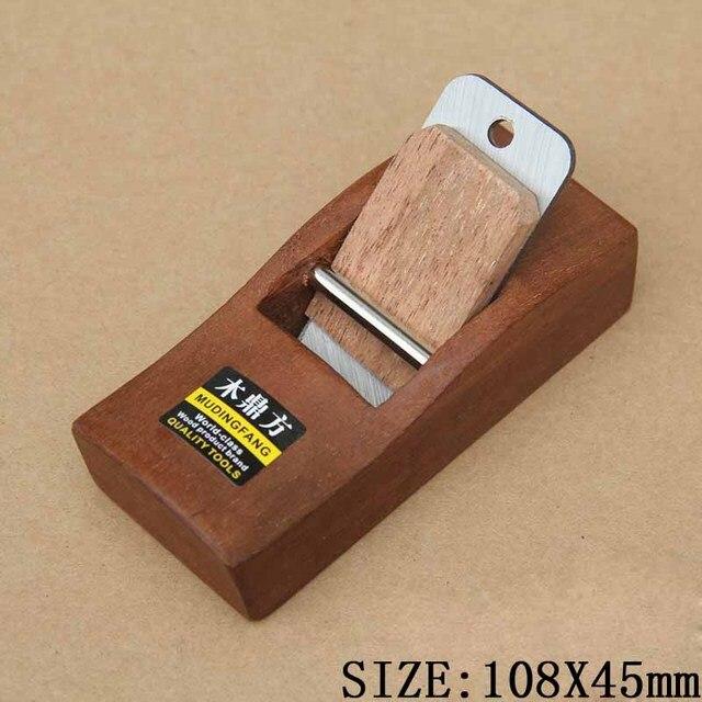 Carpintería mini carpintero fabricación modelo 10 cm madera ligera tablones  afilado cepillado manual Recortes herramienta cepillos fc180c196784
