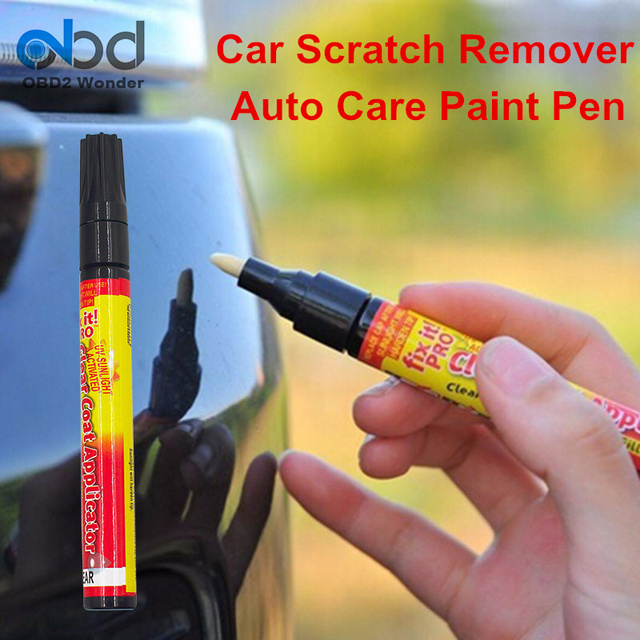 Miracle pen scratch remover