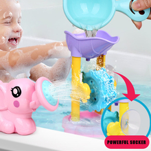 Various Cartoon Animal Turtle Elephant Duck Educational Bath Toys Classic Baby Water Toys Children Clockwork Bath Toys Storage