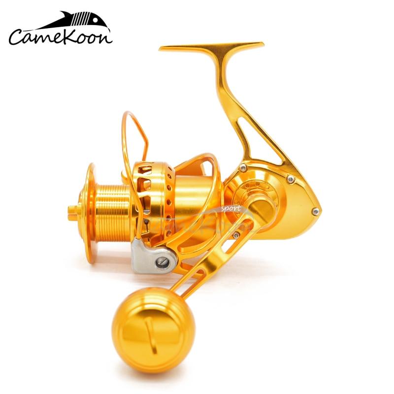 Camekoon wt5000 wt6000 fiação carretel de pesca