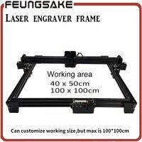 Laser Machine Frame DIY Mini Laser Engraving Machine For Connect 15w Laser 5500mw 2500mw 100 100
