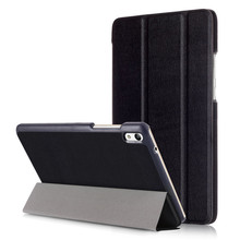 "PU Leather-based Stand Cowl Case for Huawei Mediapad T2 eight Professional eight"" Pill + 2Pcs Display Protector"