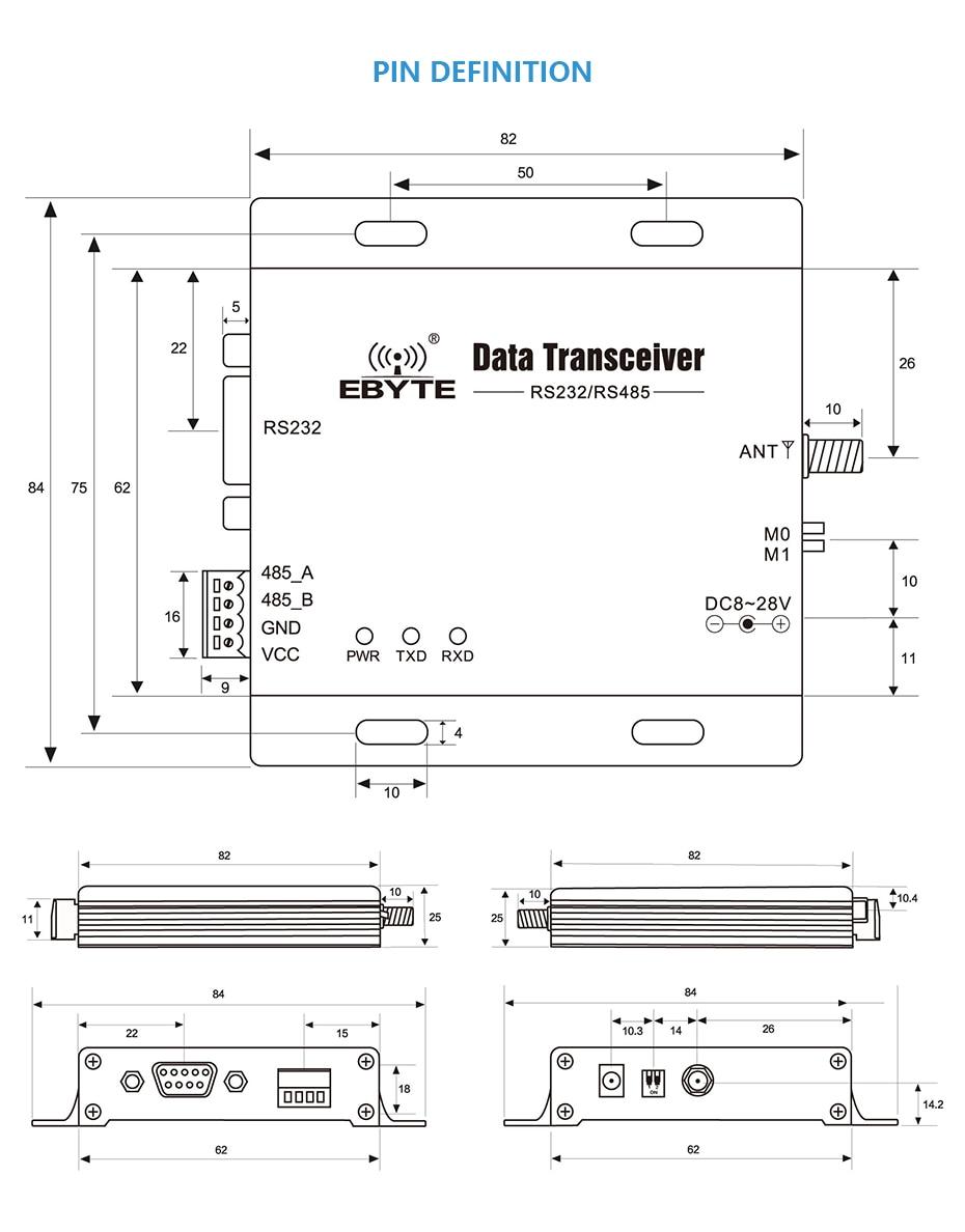 E34-DTU-2G4H27 500mW 2.4GHz Wireless Transceiver (6)