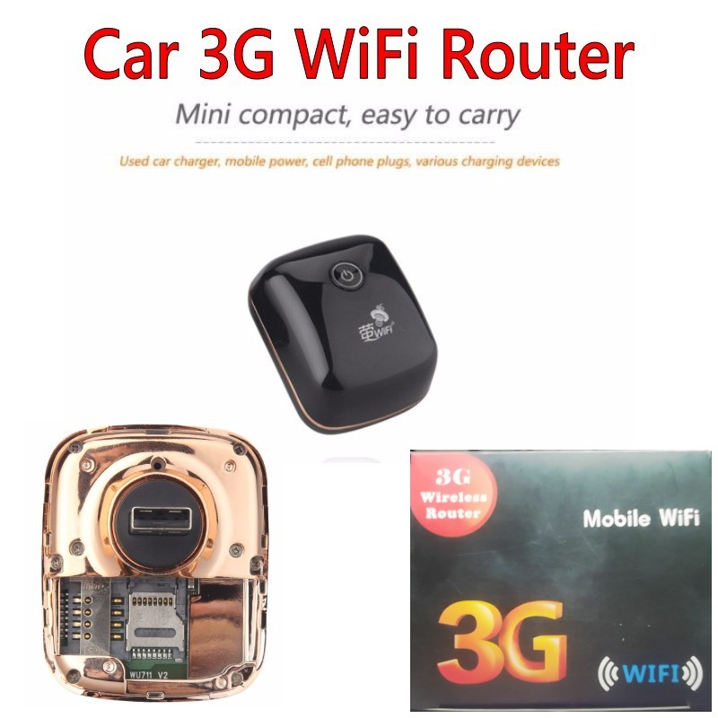3G Mobile Wifi Hotspot Car USB Modem 7.2Mbs Universal Broadband Mini Wi-fi Routers Mifi Dongle with SIM Card Slot ...