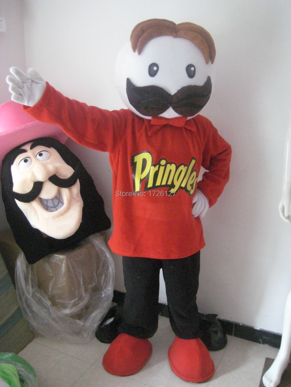mascot Pringles chips Mascot Costume custom fancy costume