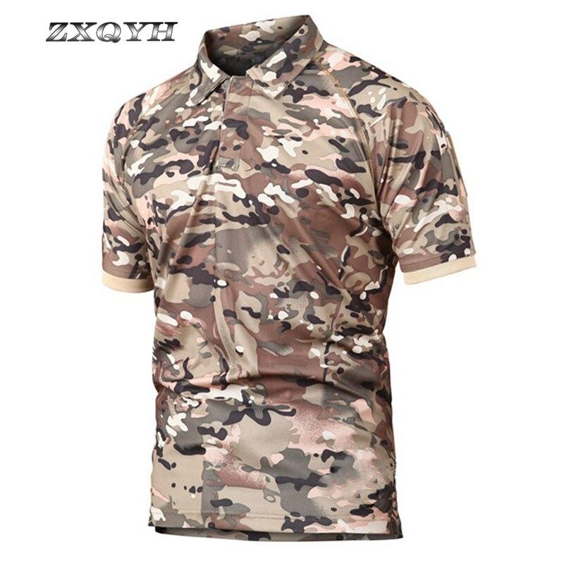 T-shirt de Manga Caça Escalada Respirável Camisa Refire