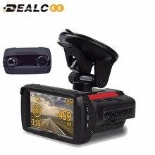 (Russisch & Stimme) auto DVR radarwarner GPS Logger 3 in 1 1080 P Ambarella A7LA50 Auto Video Recorder Registrar Kamera