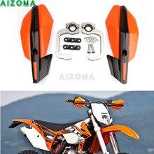 """22/28mm Handguards Universal Bicicleta Da Sujeira do Motocross Enduro MX 7/8 """"& 1-1/8"""" Mão de Laranja guarda Protetor Para KTM EXC/XCF/SCF/SX/XC"""