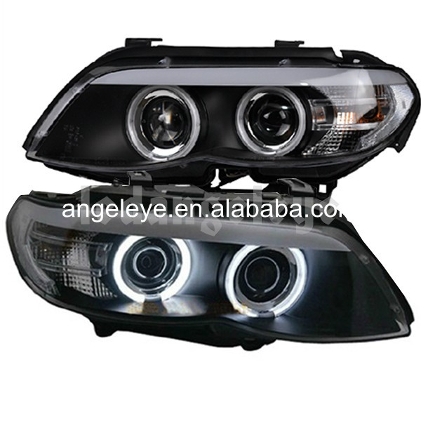 For Bmw For X5 E53 2004 2006 Year Head Lamp Front Light-3000