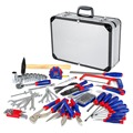 WORKPRO 119-Piece Repair Tool Set  Home Tool Kit With Aluminum Case