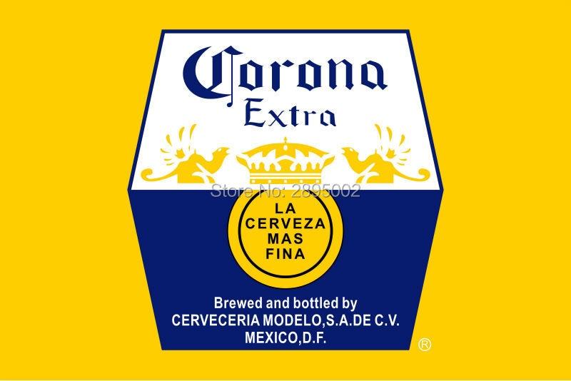 Corona Extra Beer Indoor Outdoor Flag Custom Flag-in Flags