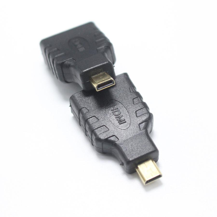 EClyxun 1pcs HDMI Standard Female jack to Micro HDMI Male Plug ...