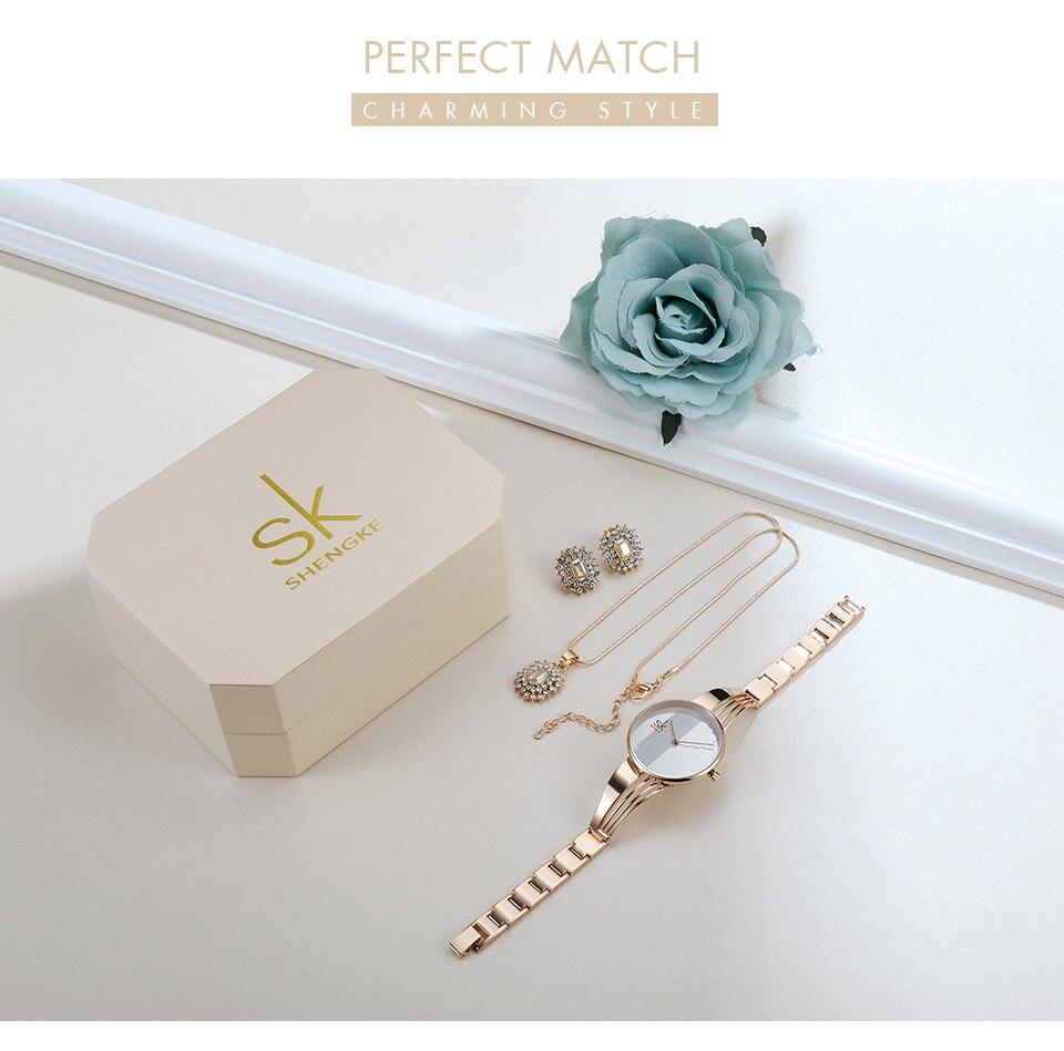 _02 Montres cristal bijoux ensemble pour femmes