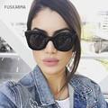FUSKARMA Fashion Sunglasses Women Oversized Sun Glasses Ladies Luxury Brand Designer For Female Photochromic UV400 Oculos Shades