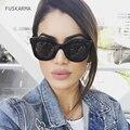 FUSKARMA gafas de Sol de Moda Las Mujeres de Gran Tamaño Gafas de Sol de Las Señoras de Lujo Diseñador de la Marca Para Mujer Oculos Shades UV400 Fotocrómico
